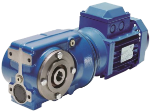 Right angled helical worm gearbox