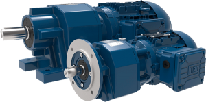WEG Helical Inline Geared Motor Units