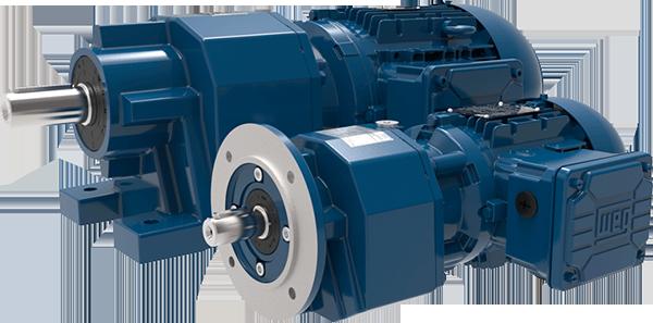 WEG Helical Inline Geared Motor Units