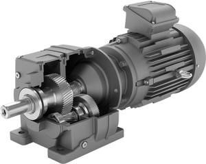 Radicon series m geared motor