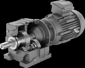 Radicon series m geared motor