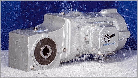 Nord Geared Motors with NSD Tuph Surface Protection